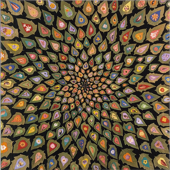 Fred Tomaselli Harry Smith And Philip Taaffe